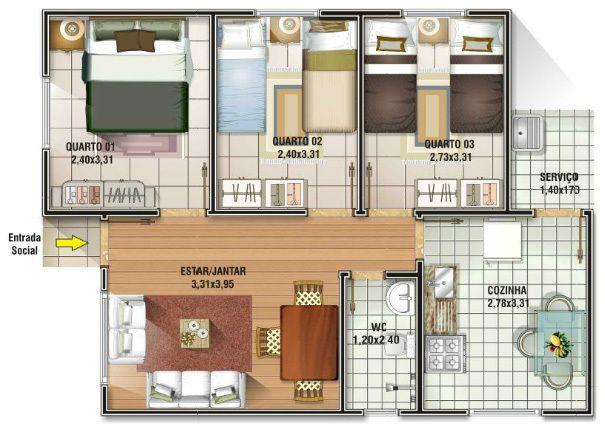 Casa-com-três-quartos.jpg (605×434)