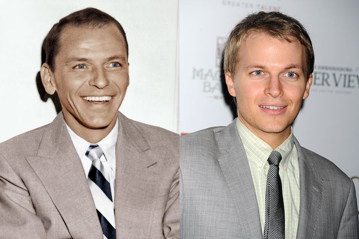 Ronan Farrow Frank Sinatra | ... Farrow's son Ronan is a dead ringer for Old Blue Eyes, Frank Sinatra.. and that is the question