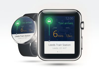 Concept App for Watch