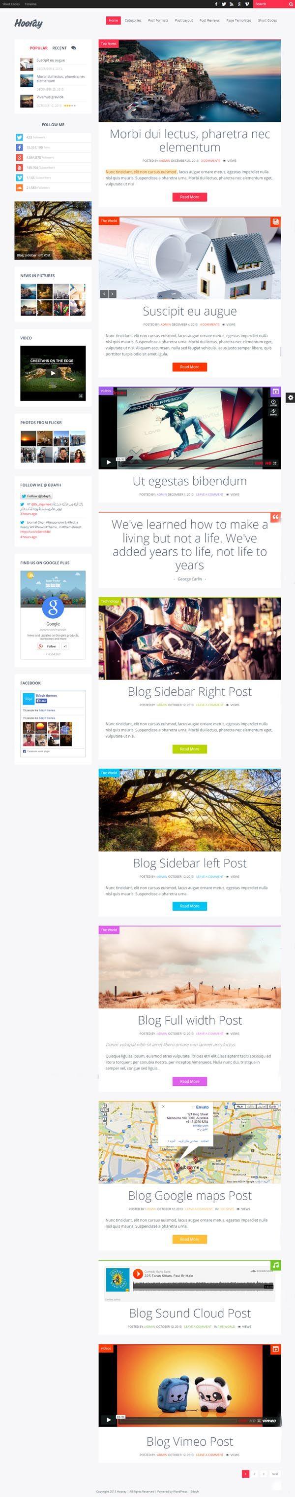 hooray-WordPress-Theme-ScreenShort