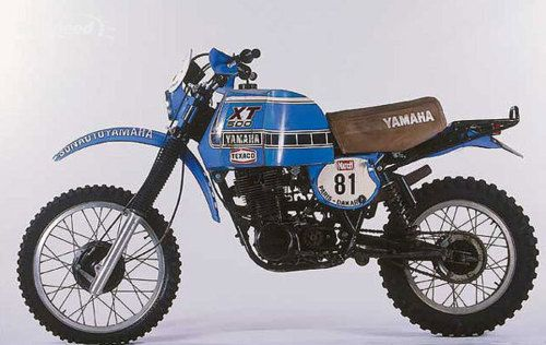 Yamaha XT500 and Paris-Dakar Rally