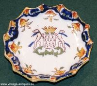 19th century French plate (Desvres)