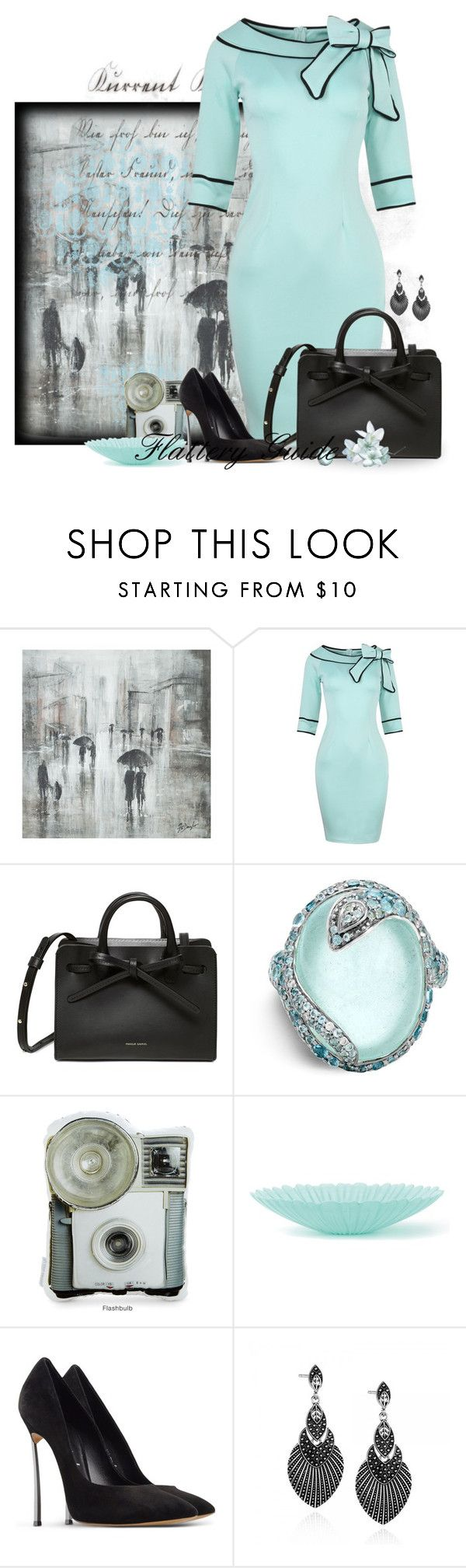 Sudatha by flattery-guide on Polyvore featuring Casadei, John Hardy and Leftbank Art