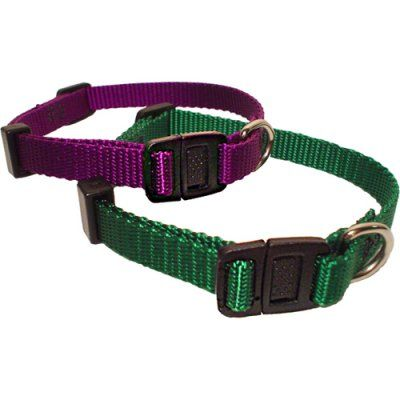 Majestic Pet Adjustable Safety Cat Collar - 8 -12 in. Black - 78899541121, Durable