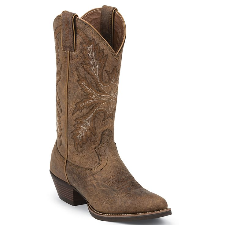 Justin Women's Silver Western Boots