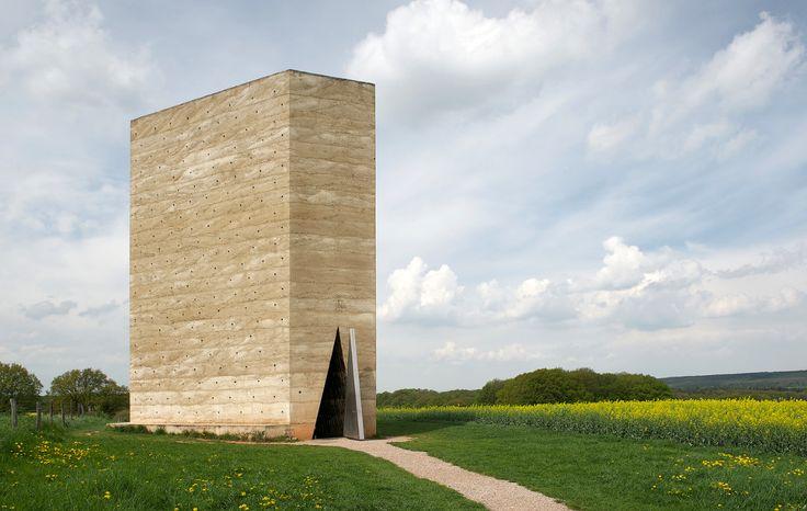 Bruder Klaus Field Chapel | Peter Zumthor (the structure ...