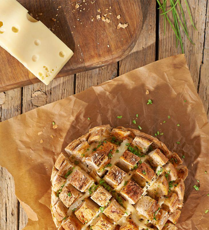 Serowy chlebek #lidl #przepis #ser #chleb