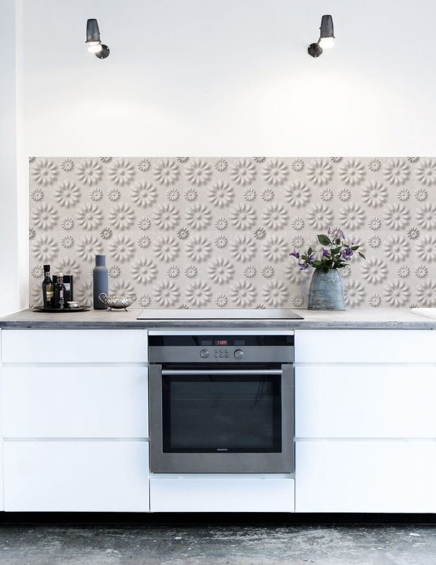 Stop Your Search For A Wonderful Looking Kitchen Backsplash. Within One  Hour You Could Have This Stunning Wallpaper MARBLE Placed To The Wall Of  Your ...