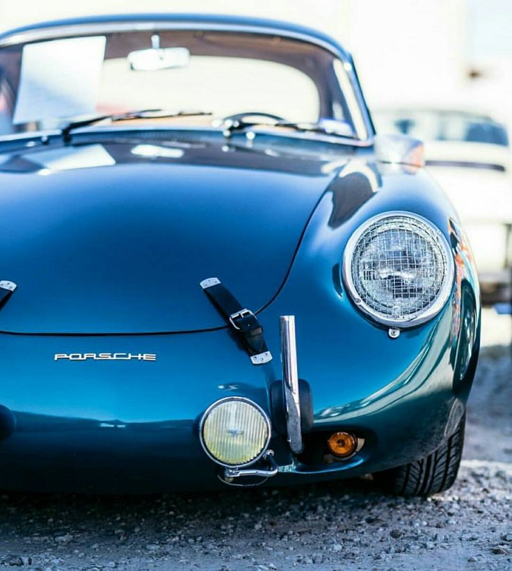 "porscheartdaily: "" A stunning 356 on display at @tejastreffen last weekend 