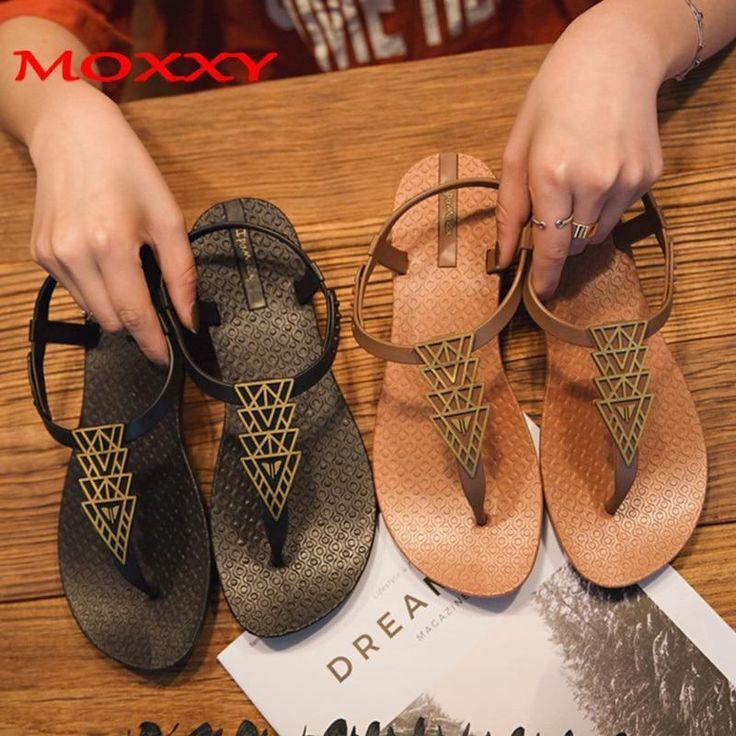 2019 Brand Flat Women Beach Sandals