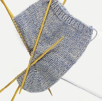 Socken mit Bumerangferse selber stricken | Schachenmayr