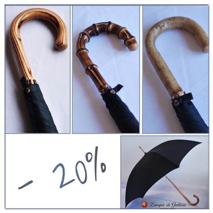 Rainy Days!  Mario Talarico umbrellas by Zampa di Gallina. 20% Off! http://www.zampadigallina.com/umbrellas.htm