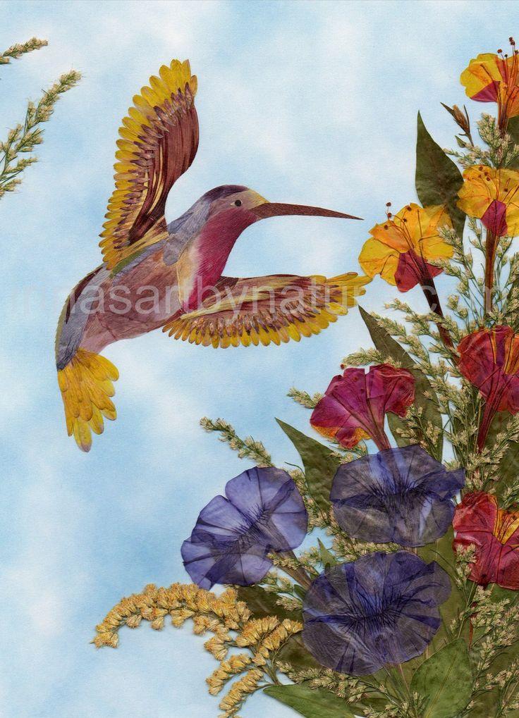 """Милые сердцу штучки: """"Ошибана"""" - это живопись прессованными растениями"""