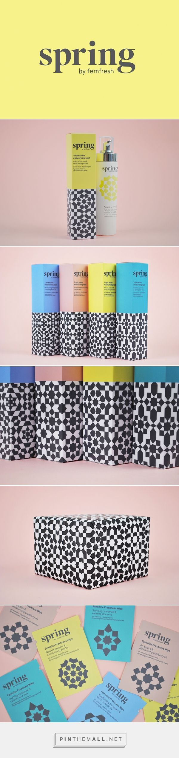 YCN Femfresh Feminine Body Care Packaging by Eve Warren | Fivestar Branding Agency – Design and Branding Agency & Curated Inspiration Gallery