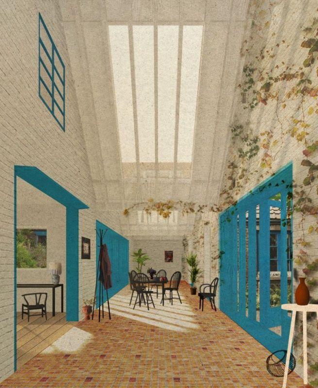 Interior 4, Granby four streets, studio assemble