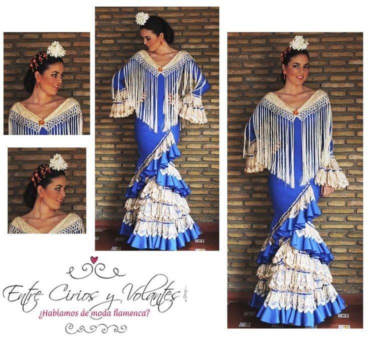 Cecilia Alcantara azul