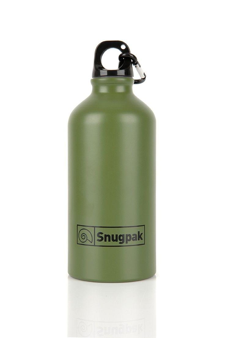 Παγούρι Αλουμινίου Snugpak 500ml Λαδί | www.lightgear.gr