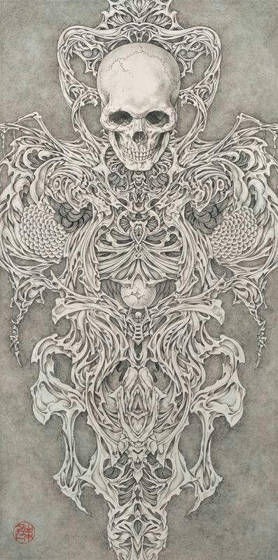 "From ""Necrophantasmagoria Vanitas"" by Takato Yamamoto"