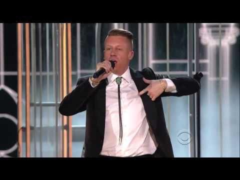 Macklemore & Ryan Lewis, Mary Lambert & Madonna performing at The Grammy's 2014 'Same Love'