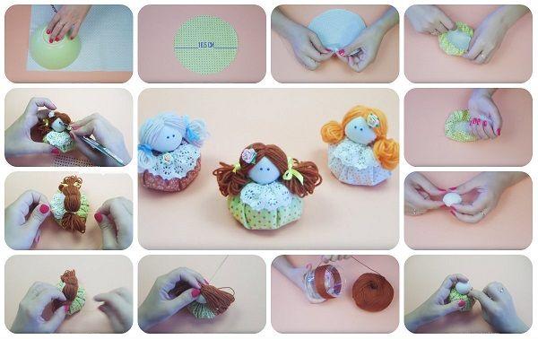 Come fare Mini Dolls in stoffa facilissime � Tutorial