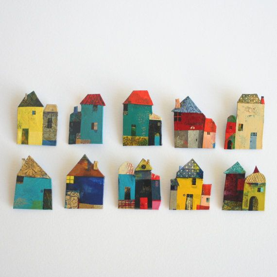 house brooches by Vanessa Hié - France