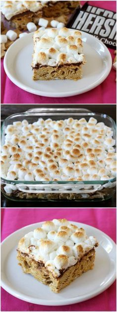 Golden Grahams S'mores Bars on http://twopeasandtheirpod.com Love these easy bars! A great summer treat!