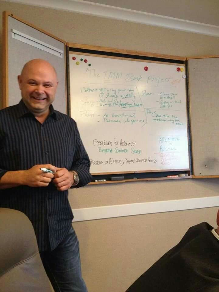Teaching at a recent The Matrixx Mastermind event in Banff.