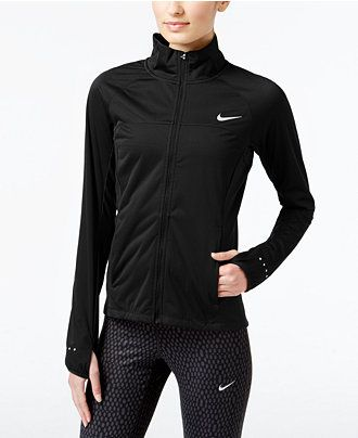 Nike Shield Running Jacket - Active Jackets & Hoodies - Women - Macy's