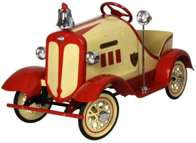 Gendron Buick Fire Chief Pedal Car
