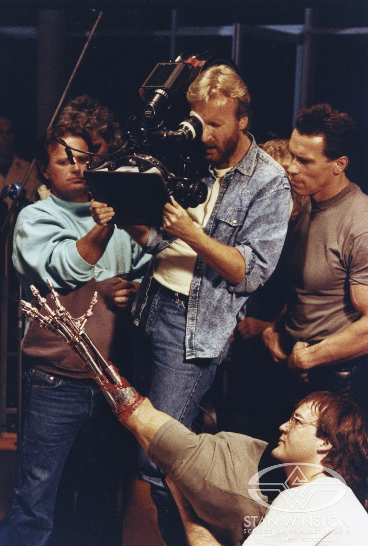 TERMINATOR 2 - Never Before Seen Stan Winston Set Photo