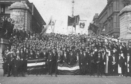 Tukkies: Graadvang in 1918