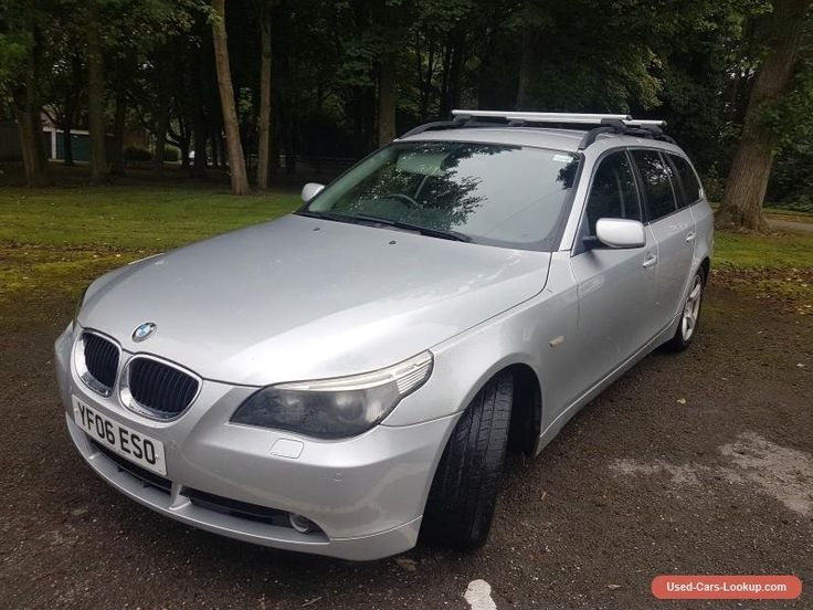 2006 BMW 525D SE Touring Estate    NO RESERVE  #bmw #525 #forsale #unitedkingdom