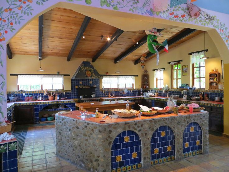 1465 best Rustic Mexican Home images on Pinterest Haciendas - mexican kitchen design