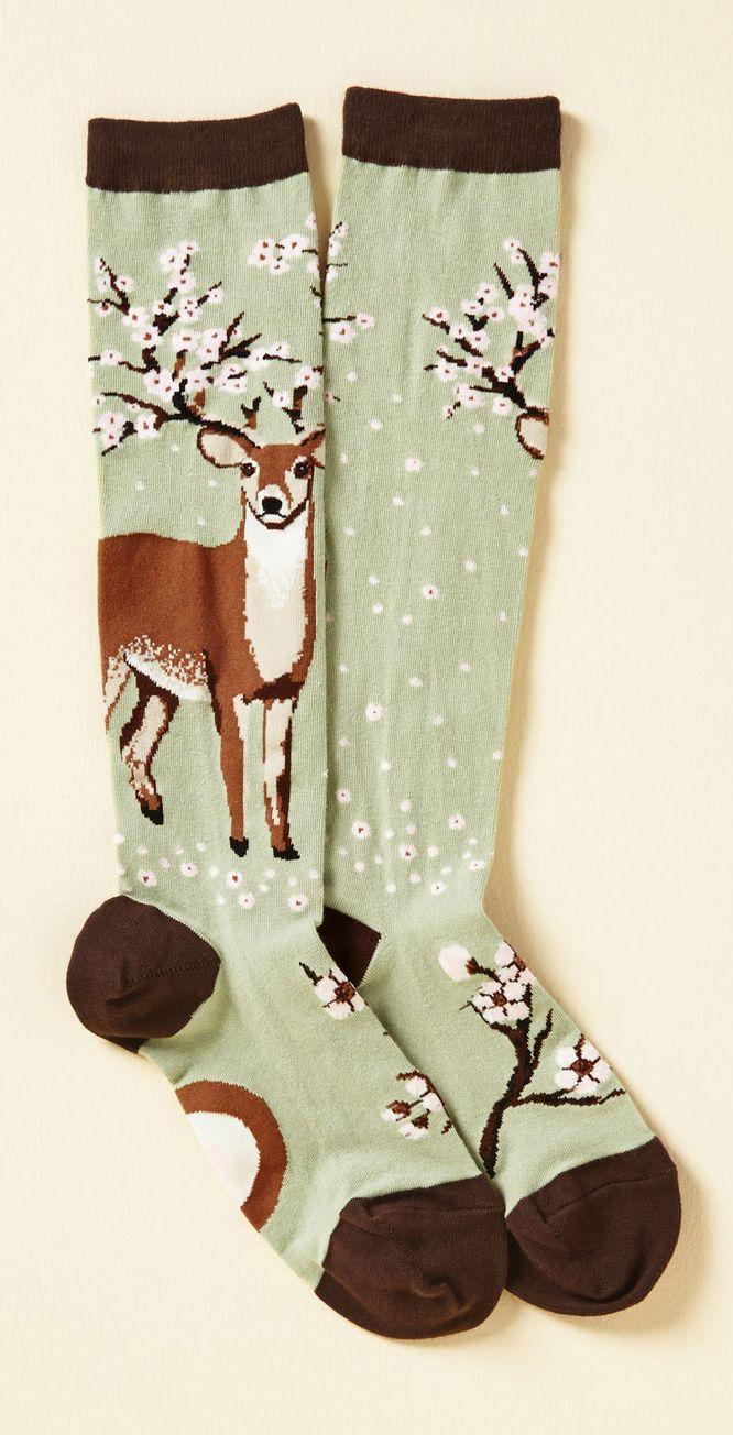 Knee socks, mori girl