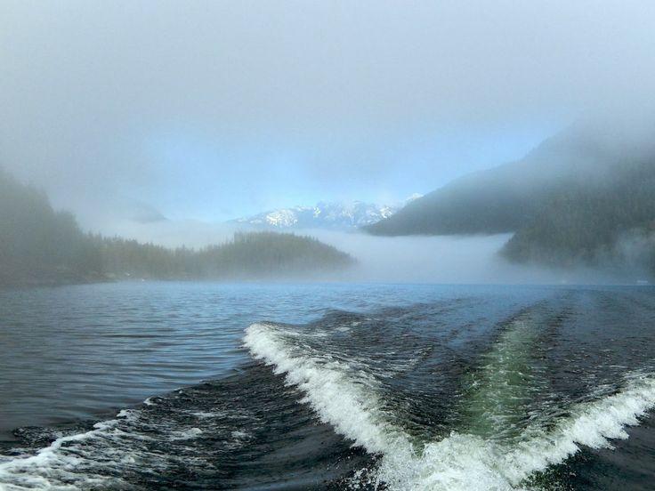 Foggy morning on Powell Lake, BC. - Margy