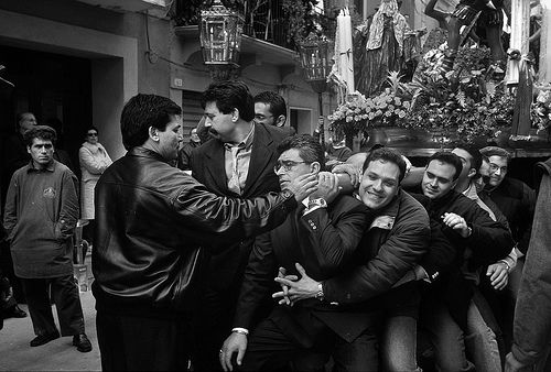 Ceto di Popolo - - Processione dei Misteri di Trapani -   #Trapani #Misteri #Procession #Sicily #Easter