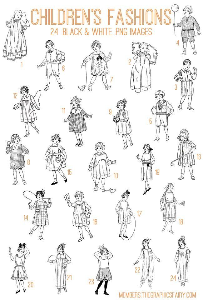 Children S Fashions