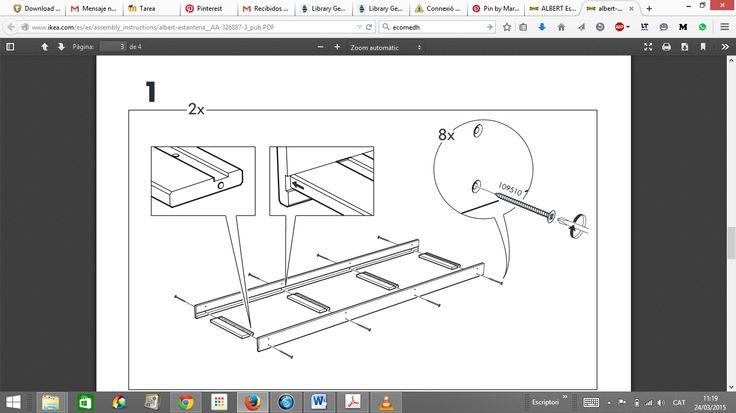 Instrucciones e interpretación... Ikeando