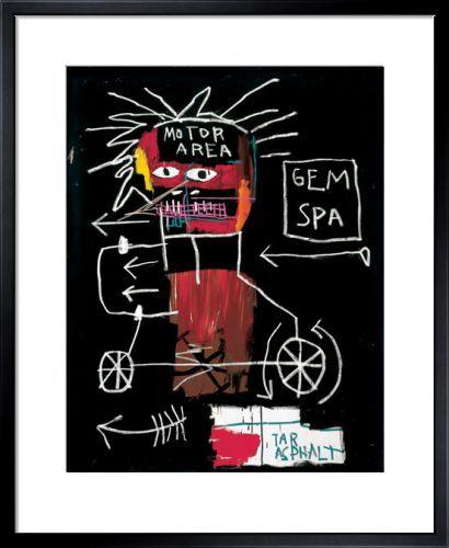 Untitled (Gem Spa) 1982 Art Print by Jean-Michel Basquiat Easyart.com