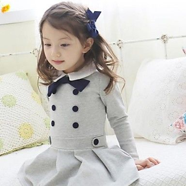Girl's Preppy Style Fashion  Dresses – BRL R$ 60,45