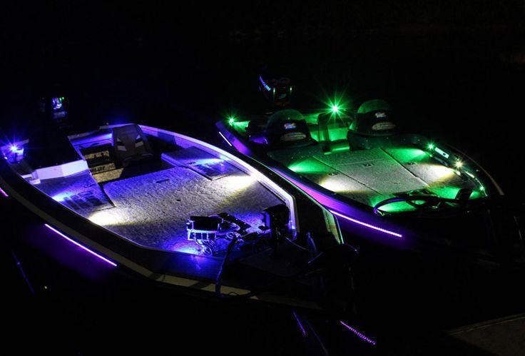 61 best bass boat led lighting images on pinterest bass for Fishing lights for boats