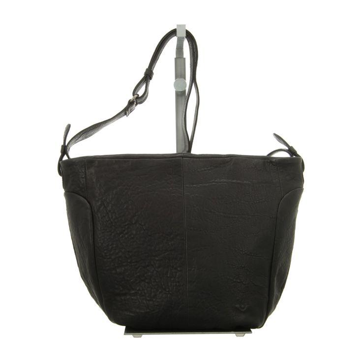 NEU: Voi Leather Design Handtaschen Beutel - 30424 SZ - schwarz -