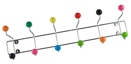 xl multicoloured coat storage hook