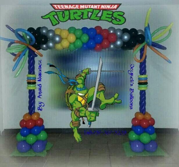 Ninja Turtle Decoration By. Jeyrelis Balloons