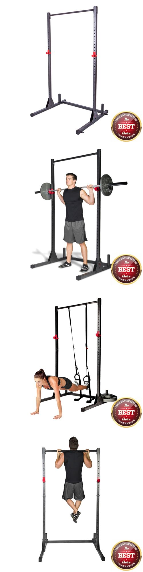 Power Racks and Smith Machines 179815: Free Standing Pull Up Bar Gym Power Rack Fitness Exercise Stand Workout Station -> BUY IT NOW ONLY: $123.3 on eBay!