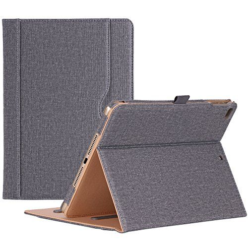 ProCase iPad 9.7 Case 2017 iPad 5th Generation Case - Stand Folio Cover Case for New 2017 Apple iPad 9.7 inch, Also Fit iPad Air 2 / iPad Air -Grey #ProCase #iPad #Case #Generation #Stand #Folio #Cover #Apple #inch, #Also #Grey