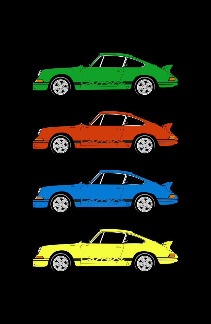 The iconic Porsche 911 Carrera 2.7RS, available in the VS shop