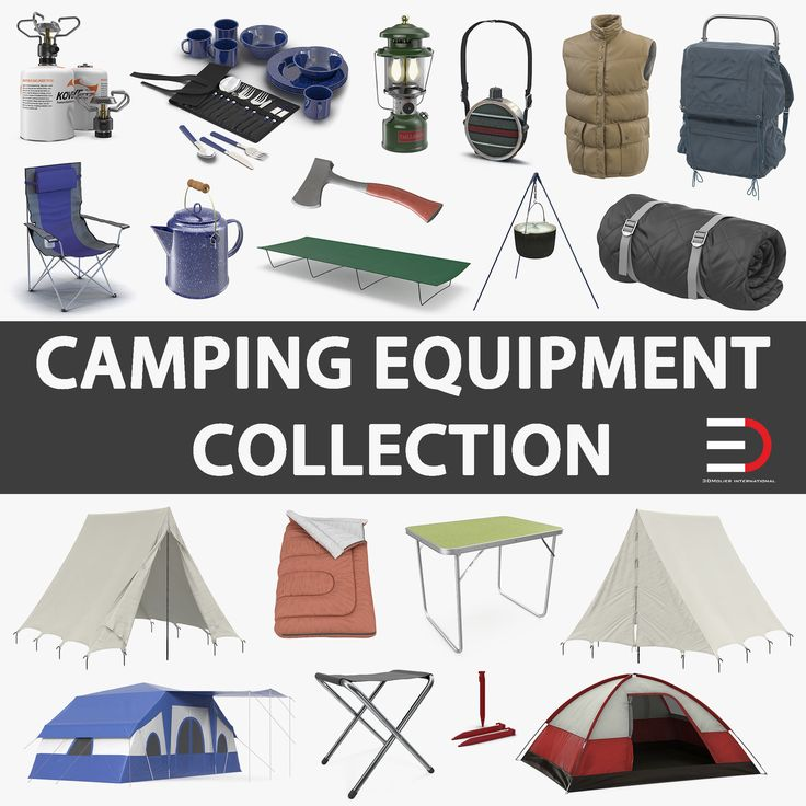 Camping Equipment Collection 2 model