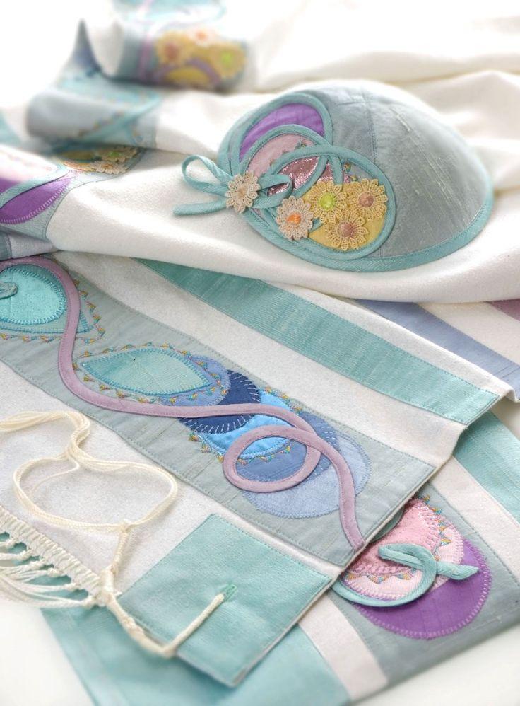 Female Tallit Kippah set