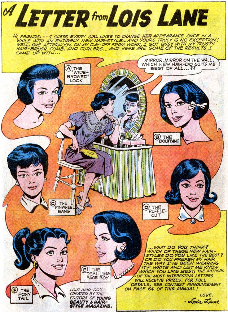 A Letter From Lois Lane Hair Dise 241 O Pinterest